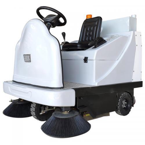 KT140小型wu业电动清扫车 工厂车间驾驶shi扫地机