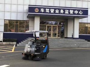 bt365体育ping台驾shi式saodi车进驻车辆管理所fuwu 驾考中xin、驾校水nidi面清sao车