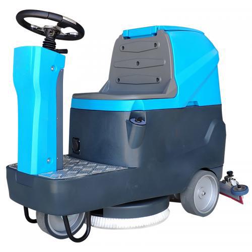 物业停车厂洗地机 da型小qu车库驾驶式洗地机